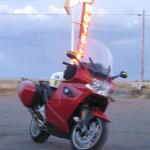 Bike at Motel